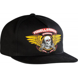 Powell Peralta Winged Ripper Snap Back Cap Noire