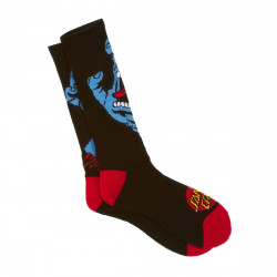 Santa Cruz Screaming Socks Black