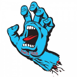 Screaming Hand Decals/Sticker 7,6cm