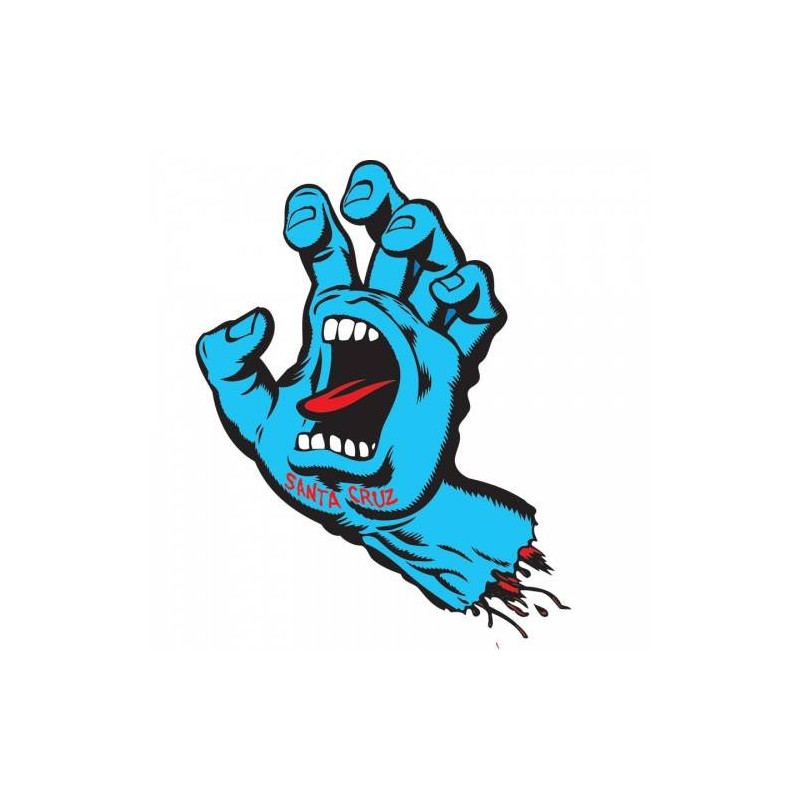 Screaming Hand Decals/Sticker 3""