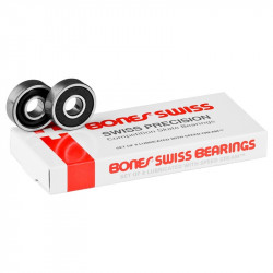 Roulements de Skateboard Bones Swiss Original