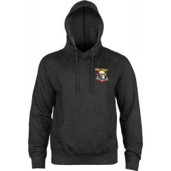 Powell Peralta Ripper Pullover Hooded Sweatshirt Charcoal