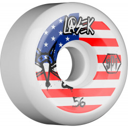 BONES WHEELS SPF PRO LASEK USA WHEEL 56MM 4PK