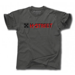 T-MAG BAT TEE IN CHARCOAL