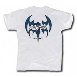 T-MAG BAT TEE IN WHITE