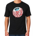 Santa Cruz T Shirt Eyeball - noir