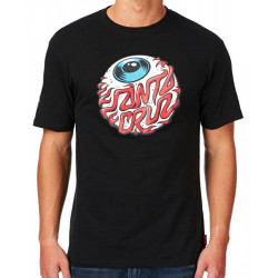 Santa Cruz T Shirt Eyeball - black