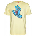 SANTA CRUZ T-SHIRT SCREAMING HAND Lemon