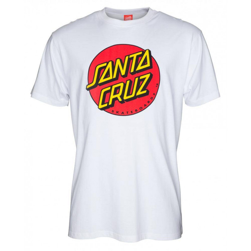 Santa Cruz T-Shirt Classic Dot Black