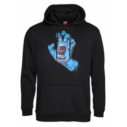 Santa Cruz Screaming Hand Hoody Black