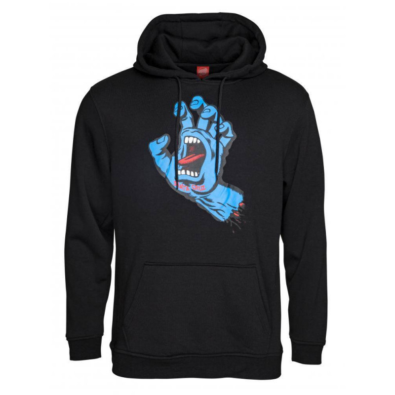 Santa Cruz Screaming Hand Hoody Noir