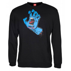 Santa Cruz Crew Screaming Hand black