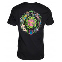 Santa Cruz T Shirt Slimeballs Vomit - Black