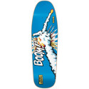 "101 ""Natas Challenger"" Skateboard Deck 9.8"" BOOM Reissue Screen Printed BLUE Old School"