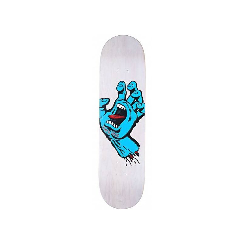 Santa Cruz 8.25 x 31.8 Minimal Hand Eighttwofive Team Skateboard Deck