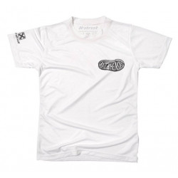 MATT HENSLEY SHOE LOGO TEE WHITE