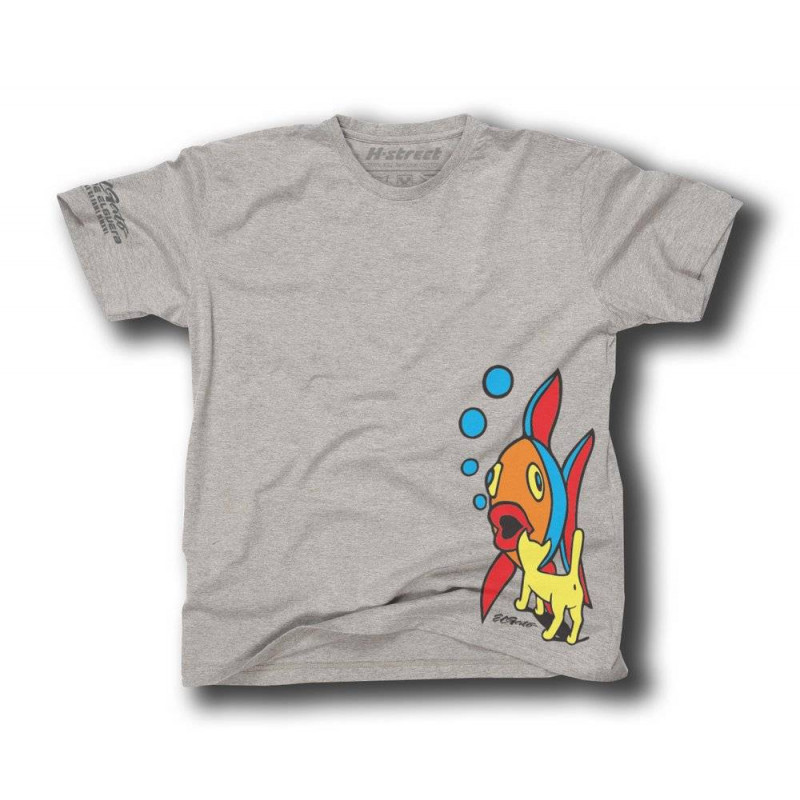 EL GATO SKATEBOARD HALL OF FAME TEE GRAY