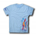 EL GATO SKATEBOARD HALL OF FAME TEE BLEU CIEL
