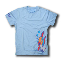 EL GATO SKATEBOARD HALL OF FAME TEE LIGHT BLUE