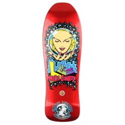 "Plateau de skateboard SMA Conroy Crystal Ball Candy Metallic Red - 10.0"" x 31.25"""