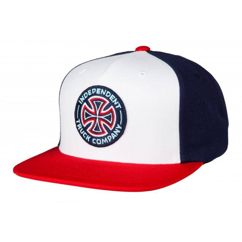Independent Cap Combi Snapback Red/Navy OS ADULT