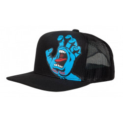 Casquette Santa Cruz Screaming Hand Mesh Noire