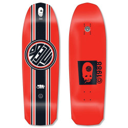 "Skateboard deck John Lucero ""Racing Stripe"" 10"" x 32.88"" (red) deck"