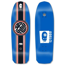 "Skateboard deck John Lucero ""Racing Stripe"" 10"" x 32.88"" (blue) deck"