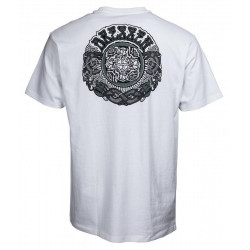 Santa Cruz T-Shirt Dressen Black Roses - White