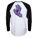 T-Shirt Santa Cruz Longsleeve screaming hand