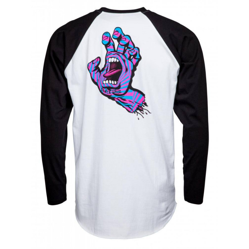 Santa Cruz Longsleeve screaming hand T Shirt