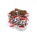 Heritage Skateboard Stickers Blind Dodo Skull Lee - Paquet de 10