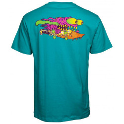 Santa Cruz T-Shirt Slasher Colour Bleu baltique