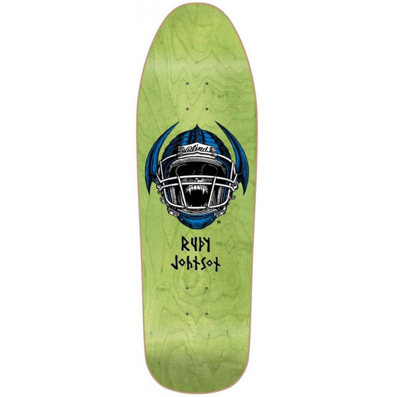 PLATEAU SKATEBOARD RUDY JOHNSON JOCK SKULL 9.875 LTD