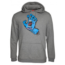 Santa Cruz Screaming Hand Hoody Gris Fonce