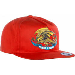 Casquette Powell Peralta Oval Dragon Rouge