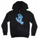 Santa Cruz Screaming Hand Youth Hoody Black