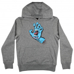 Santa Cruz Screaming Hand Youth Hoody Dark Heather