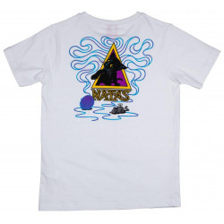 Santa Cruz Youth T Shirt Natas Kitten White