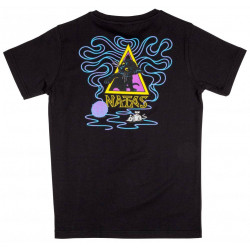 Santa Cruz Youth T Shirt Natas Kitten Black