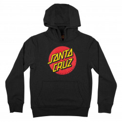 Santa Cruz Classic Dot Youth Hoody Black