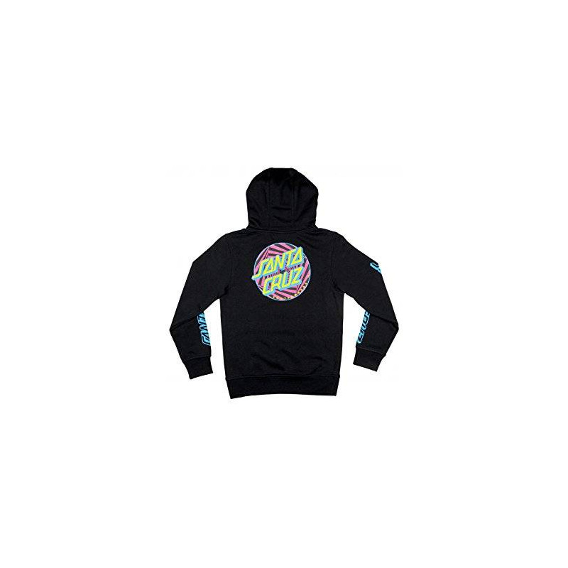 Santa Cruz Party Dot Youth Hoody Black