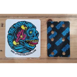 Santa Cruz Rip Grip Black And Blue