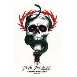 Powell Peralta McGill Bones Brigade Sticker