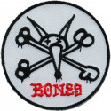 Vato Rat Patch Powell Peralta Blanc 8cm