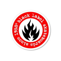 "Black Label ""Since 88"" sticker"