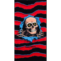 Powell Peralta Skateboards Ripper Beach Towel