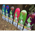 "Plateau de skateboard Jason Lee ""Grinch Feast""- Noir"