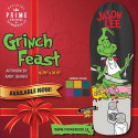 "Skateboard Deck Jason Lee ""Grinch Feast""- Black"