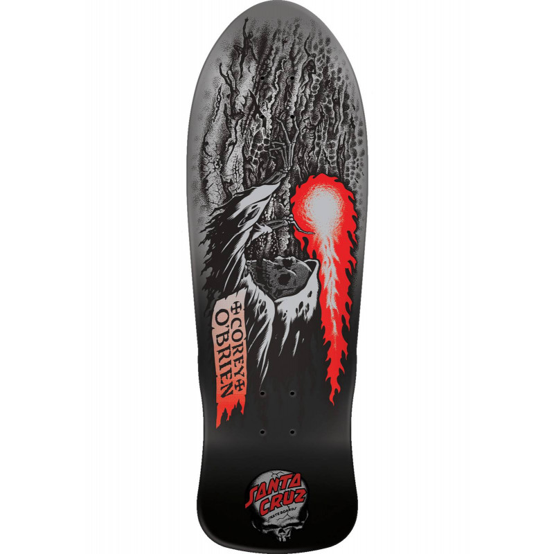 SANTA-CRUZ Obrien Reaper Metallic Fade Reissue, Deck, black-grey